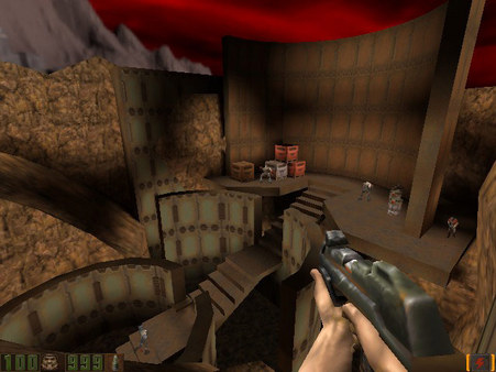 скриншот QUAKE II 0