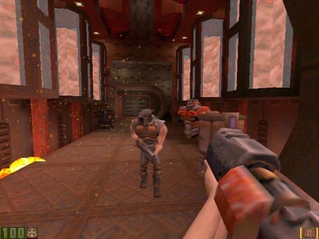 скриншот QUAKE II 2