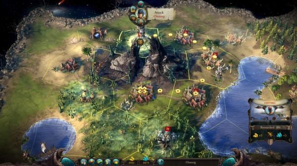 Eador. Masters of the Broken World скриншот