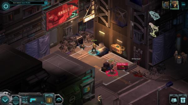 Shadowrun Returns скриншот