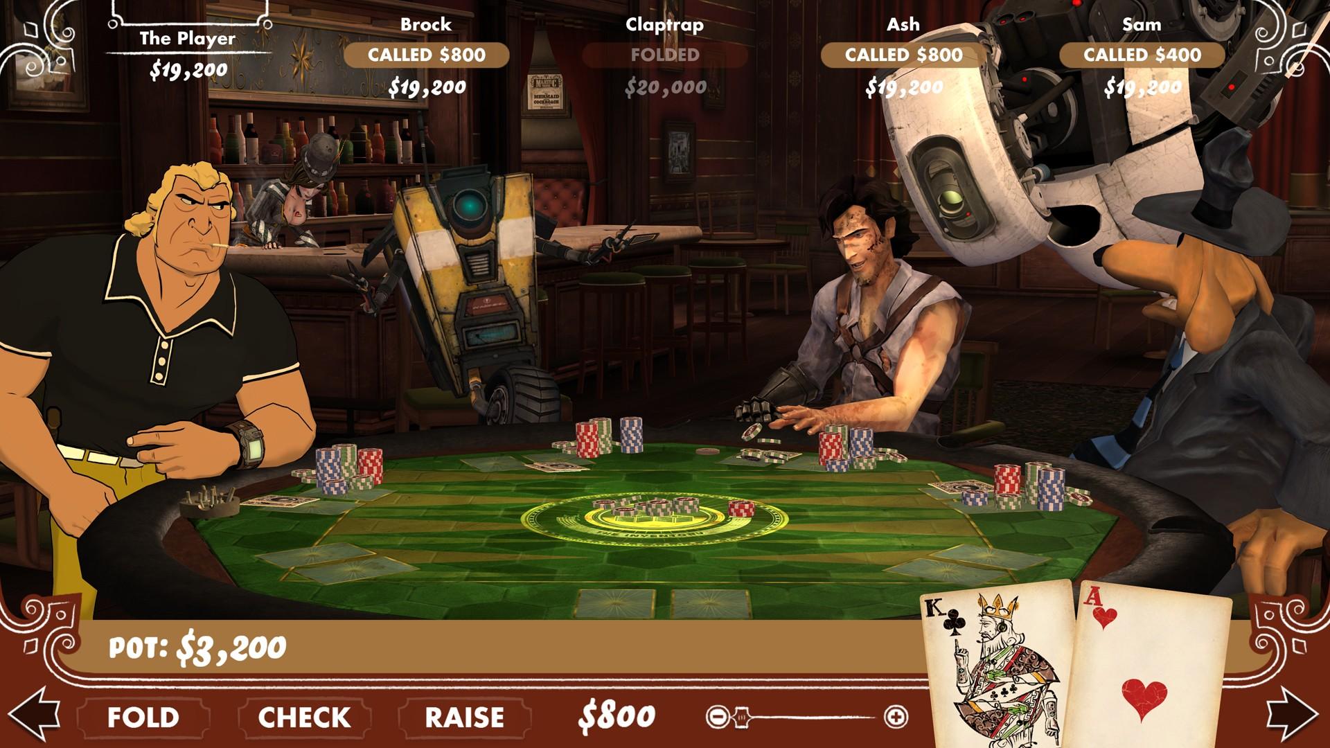 Poker Night Dilogy (RUS|ENG) [RePack] от R.G. Механики