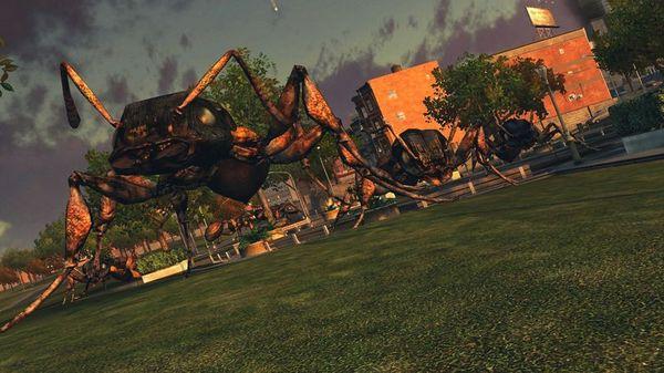 Screenshot of Earth Defense Force: Insect Armageddon
