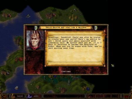 Screenshot of Eador. Genesis
