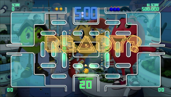 PAC-MAN Championship Edition DX+ скриншот