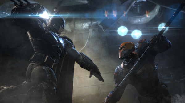 Скриншот №1 к Batman Arkham Origins - Infinite Earths Skin Pack
