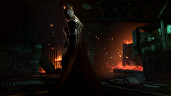 Скриншот №4 к Batman Arkham Origins - Infinite Earths Skin Pack