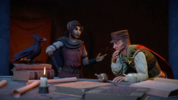 Скриншот №16 к Dreamfall Chapters