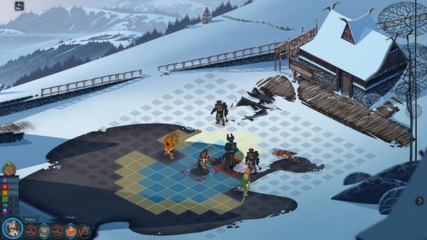 Скриншот №4 к The Banner Saga