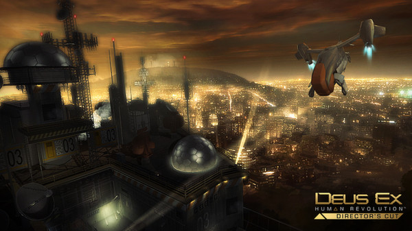 Deus Ex: Human Revolution скриншот