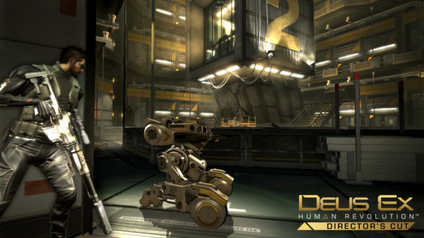 Скриншот №1 к Deus Ex Human Revolution - Directors Cut