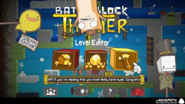 Скриншот №1 к BattleBlock Theater®