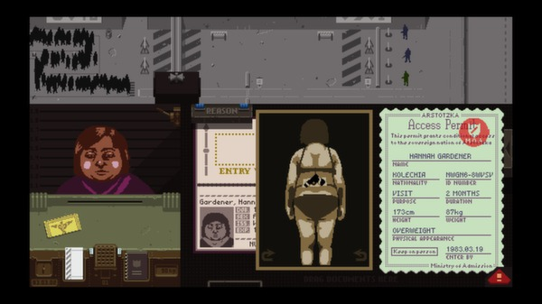 Papers, Please скриншот