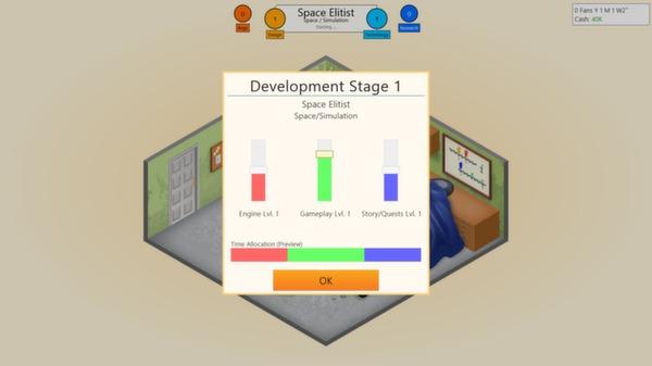 скриншот Game Dev Tycoon 1