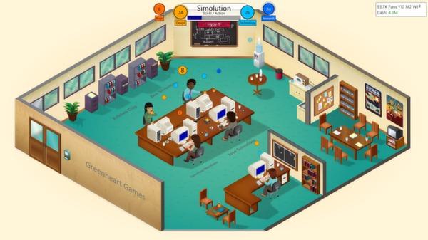 скриншот Game Dev Tycoon 2