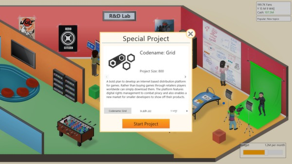 Game Dev Tycoon Screenshot