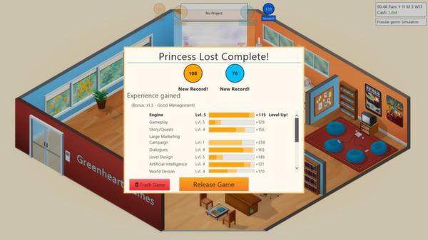скриншот Game Dev Tycoon 4