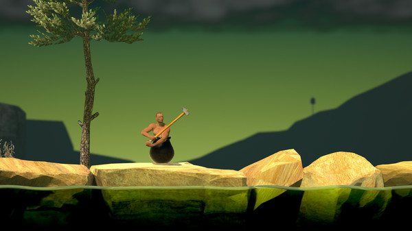 Скриншот №1 к Getting Over It with Bennett Foddy