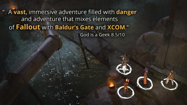 Скриншот №2 к Wasteland 2 Directors Cut