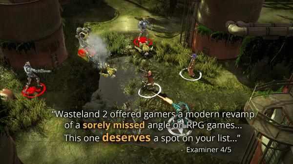 Скриншот №4 к Wasteland 2 Directors Cut