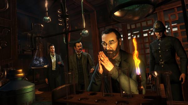 Sherlock Holmes: Crimes and Punishments скриншот