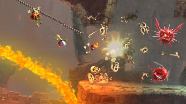 Скриншот №1 к Rayman® Legends