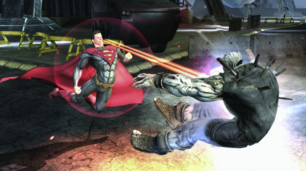 Скриншот №1 к Injustice Gods Among Us Ultimate Edition