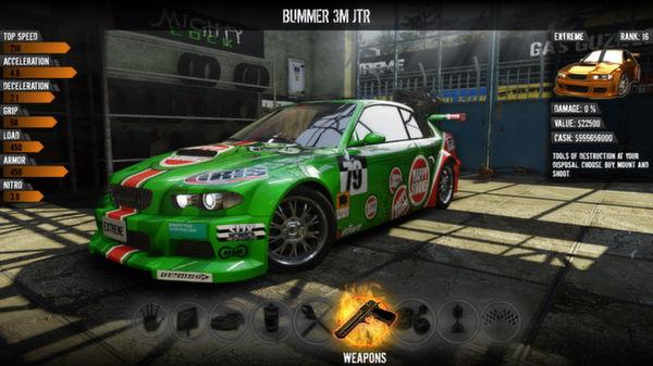 Скриншот №1 к Gas Guzzlers Extreme