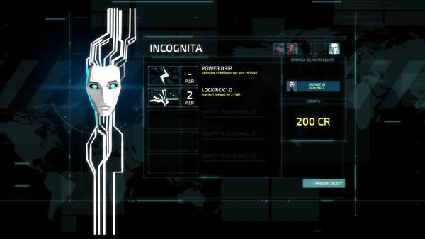 Invisible, Inc. скриншот