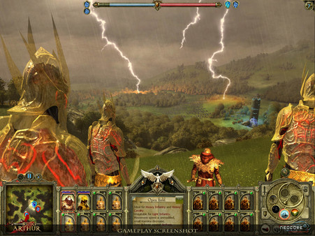 Скриншот №12 к King Arthur - The Role-playing Wargame