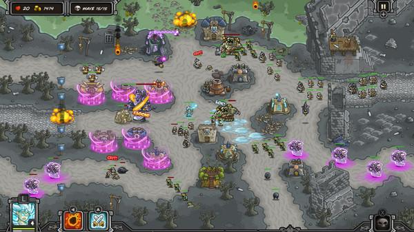 Скриншот №2 к Kingdom Rush  - Tower Defense