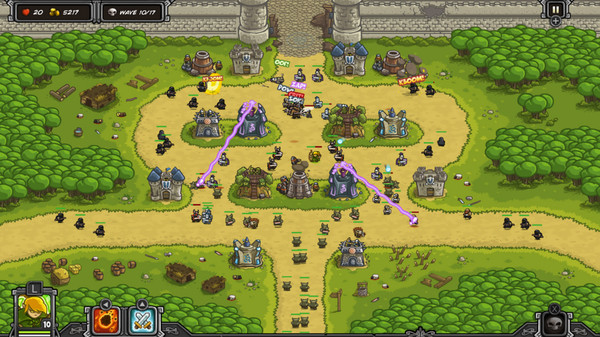 Скриншот №5 к Kingdom Rush  - Tower Defense