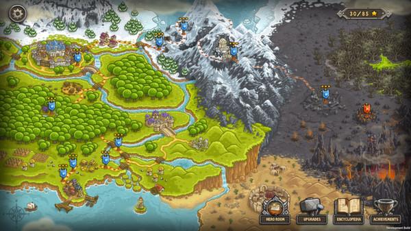 Скриншот №1 к Kingdom Rush  - Tower Defense