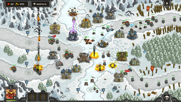 Скриншот №7 к Kingdom Rush  - Tower Defense