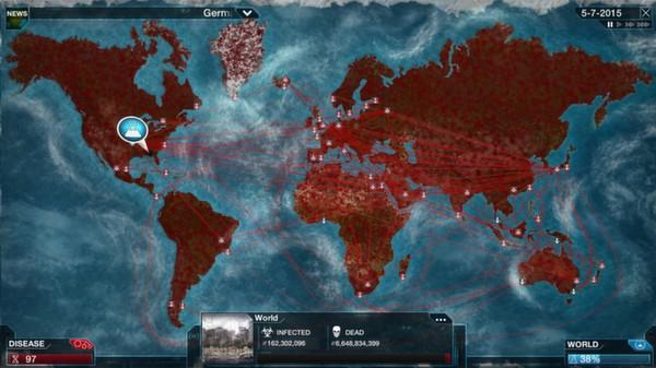Скриншот №14 к Plague Inc Evolved