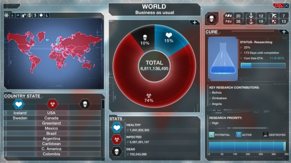Скриншот №10 к Plague Inc Evolved
