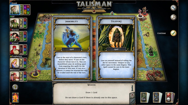 скриншот Talisman: Digital Edition 5