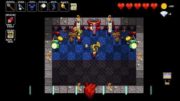 Скриншот №3 к Crypt of the NecroDancer