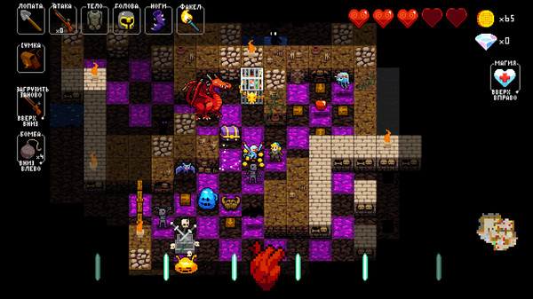 Скриншот №2 к Crypt of the NecroDancer