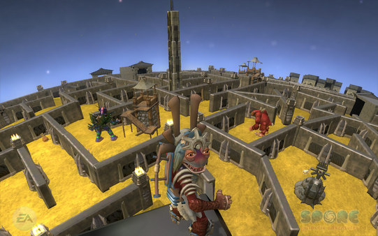 Скриншот №7 к SPORE™ Galactic Adventures
