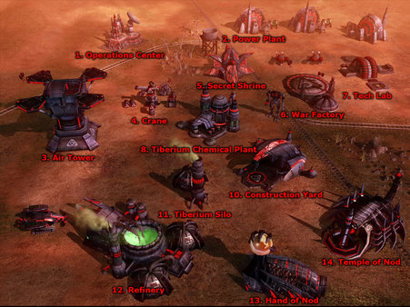 Скриншот №5 к Command  Conquer 3 Tiberium Wars