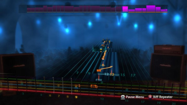 "Скриншот №3 к Rocksmith® 2014 - The Smashing Pumpkins  - ""Cherub Rock"""