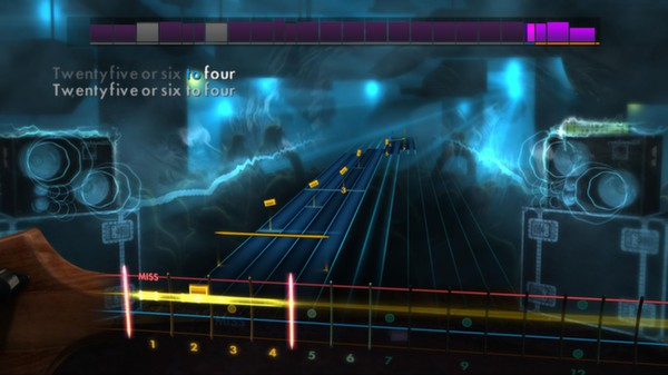 "Скриншот №2 к Rocksmith® 2014 – Chicago  - ""25 Or 6 to 4"""
