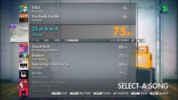 "Скриншот №5 к Rocksmith® 2014 – Chicago  - ""25 Or 6 to 4"""