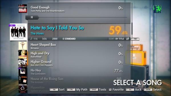 """Скриншот №2 к Rocksmith® 2014 – The Hives  - """"Hate to Say I Told You So"""""""