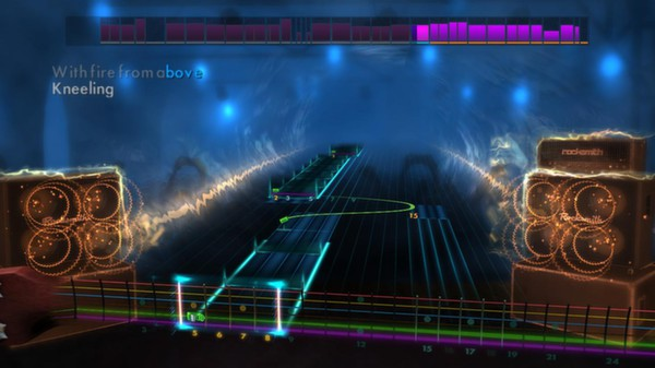 """Скриншот №1 к Rocksmith® 2014 – Queens Of The Stone Age  - """"My God Is The Sun"""""""