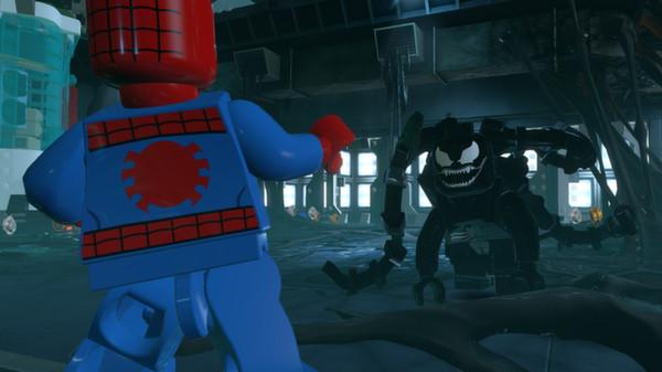 LEGO Marvel Super Heroes скриншот