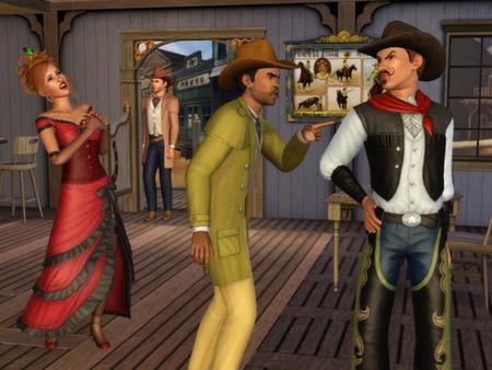 Скриншот №2 к The Sims 3 - Movie Stuff