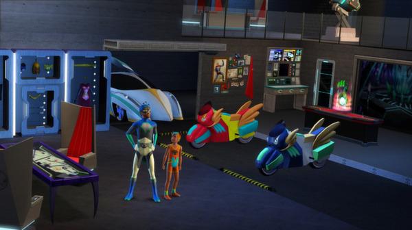 Скриншот №4 к The Sims 3 - Movie Stuff