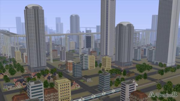 скриншот A-Train 8 5