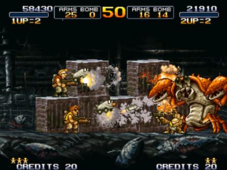 Скриншот №2 к METAL SLUG 3